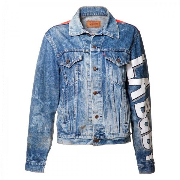 LA Baby Denim Jacket JAY DEE ❤ liked on Polyvore featuring jackets and outerwear