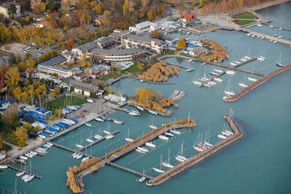 Balatonfüred #Balaton #Hungary #sailing #sailboat #lake