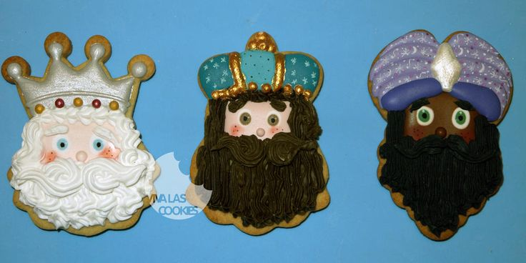 Galletas Reyes Magos 2015_The Three Wise Kings cookies