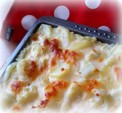 Simi´s Sattmacher- Rezepte und mehr.....: Blumenkohl-Kartoffelauflauf