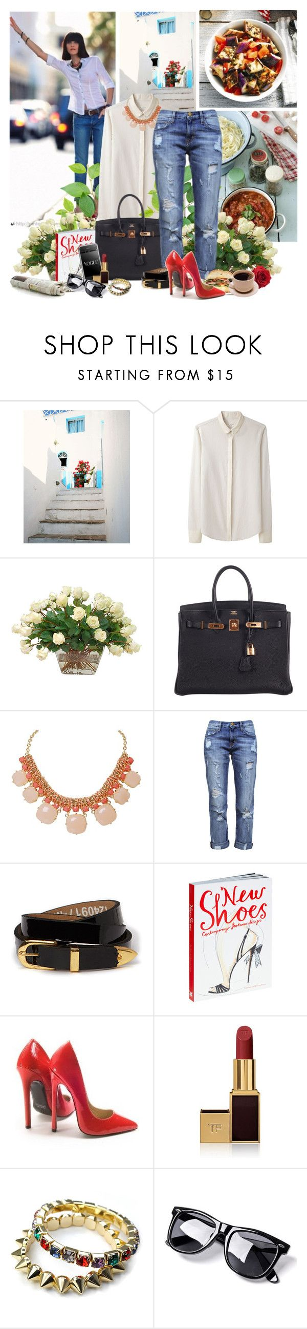 """""""Do More Of What Makes You Happy"""" by seemstobe ❤ liked on Polyvore featuring rag & bone, The French Bee, Hermès, Humble Chic, Current/Elliott, Friis & Company, Tom Ford and kitchen"""