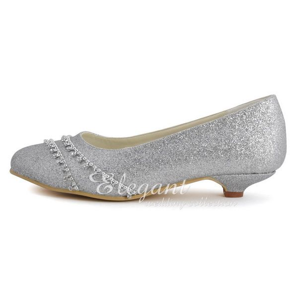 Cheap Wedding Pumps Buy Quality Heels Glitter Directly From China Low Suppliers Shoes Woman Silver Closed Toe Rhinestone Heel Bride