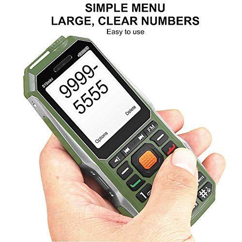 Easy to Use Cell Phones for Seniors- Elderly Phones for Seniors Loud