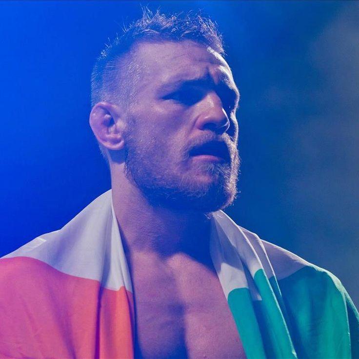 proud Irish fighter: Conor McGregor