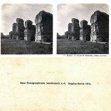 Foto storiche di Roma - Foro Romano. Tempio di Antonino e Faustina Anno: 1860/70