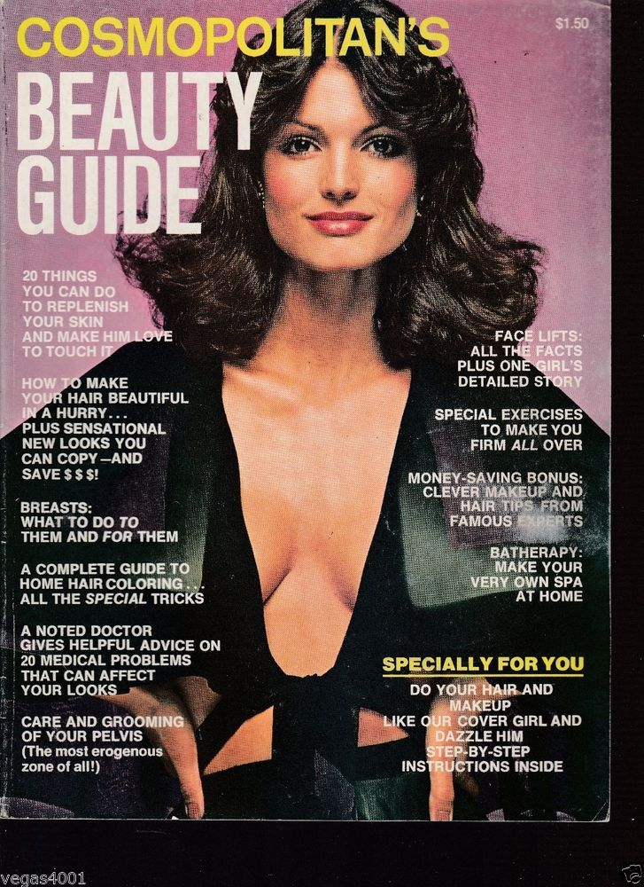 Cosmopolitan Beauty Guide 1975 cover with Barbara Minty ...