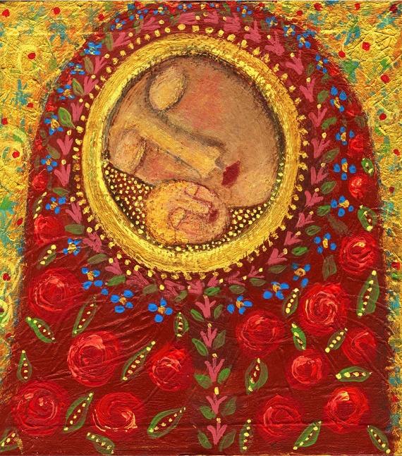 Folk art, Rose Walton, Pennsylvania