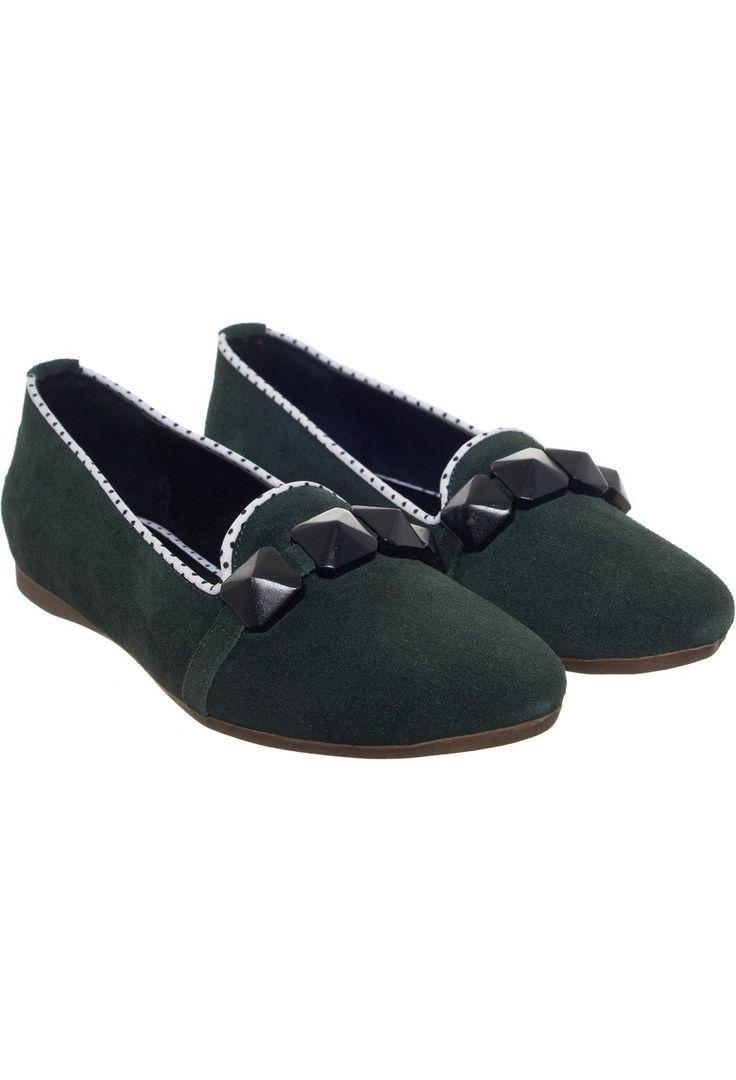 #zapatos #chatitas CHATA ARMENIA VERDE CÓDIGO 150Z0455-VE0 http://www.guiapurpura.com.ar/viamo
