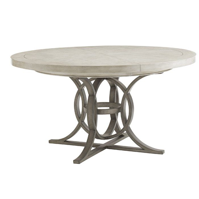 Oyster Bay Calerton Extendable Dining Table Round Pedestal Dining Table Round Dining Table Extendable Dining Table