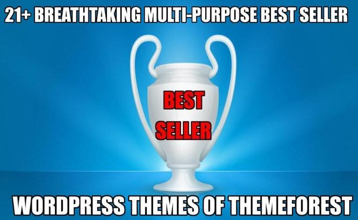 21+ Breathtaking Best Seller WordPress Themes on ThemeForest