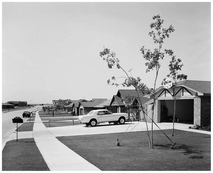 New Housing Development, Benbrook, Texas. Foto di Frank Gohlke, 1963