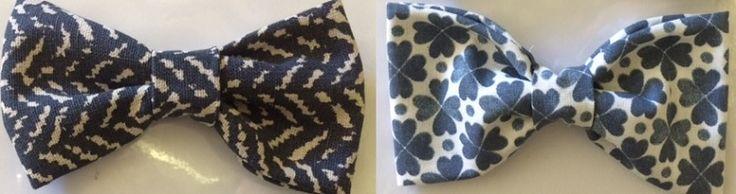 Manon maakte deze schattige strikjes van verschillende stukjes stof. Wil je weten hoe? Kijk op https://www.kwantum.nl/creatief-met-stoffen. #DIY #Kwantum #Stof