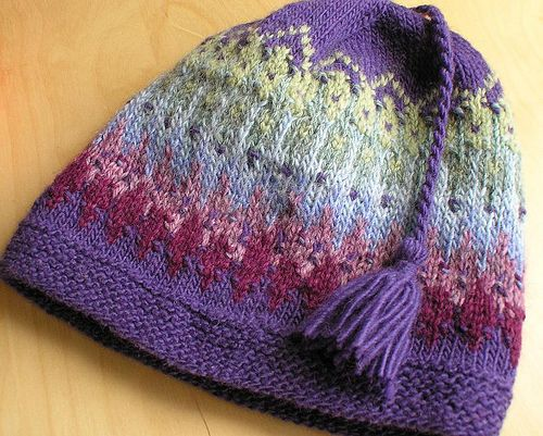 What a cool looking hat! Knit & Crochet Pinterest Libraries, Patter...