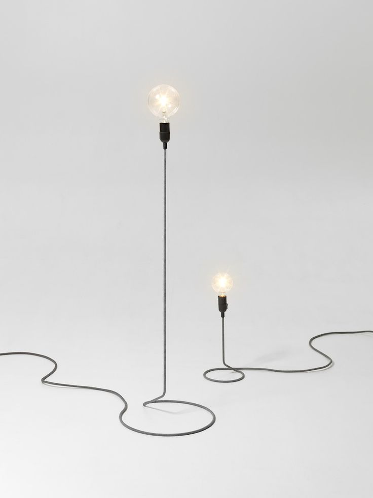 Swedish Studio have crafted lamp with an unusual visual aid which at the same time gives a minimal look.