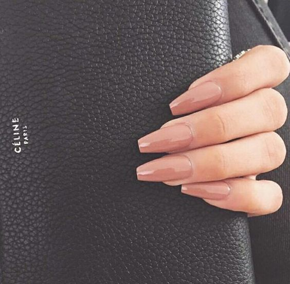 60+ Nude Color Nails Designs für einen edlen Look Ideen – Nails