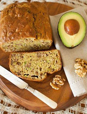 Avocado Walnut Bread