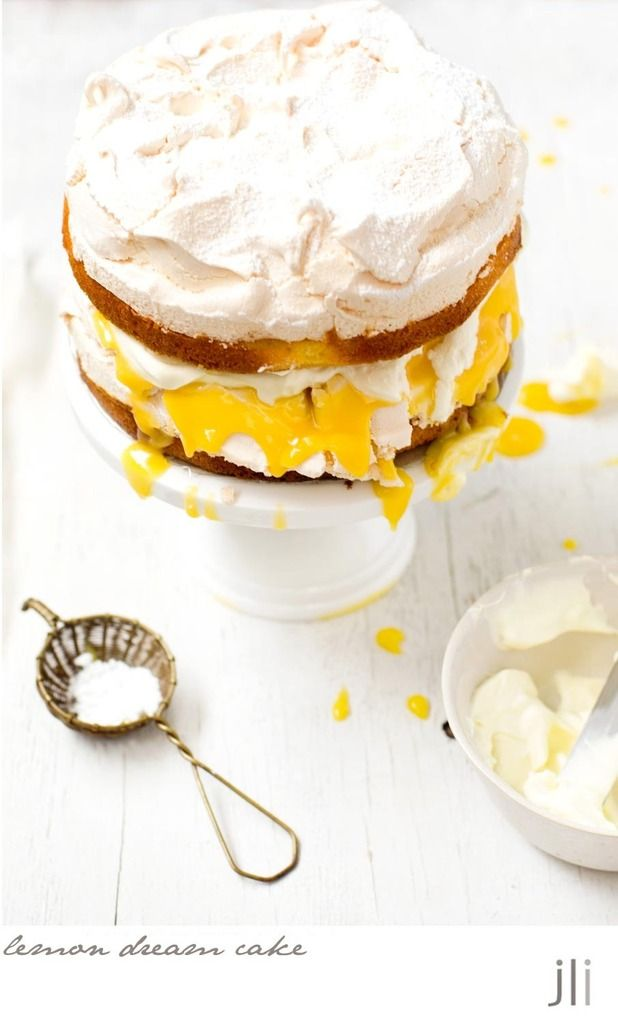 lemon dream cake  https://www.pinterest.com/christineeng1/lemon/
