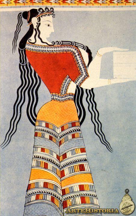 Dama Oferente, Grecia