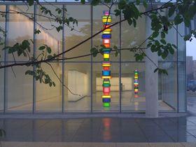 David Batchelor ArtCorner Lights, Art Washington, 1St Street, Lights String, Glasses Room, Led Lights, David Batchelor, Batchelor Art, Site Specific