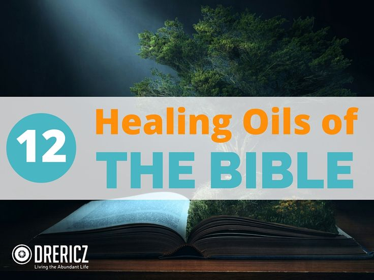 Scripture is filled with natural remedies & sacred plants. Study the 12 Healing Oils of the Bible to give you a greater appreciation for God's provision!