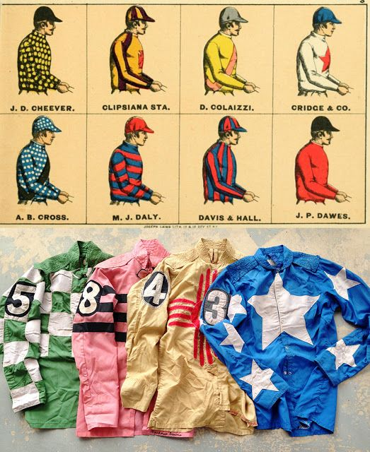 Jessamity: Vintage Jockey Silks