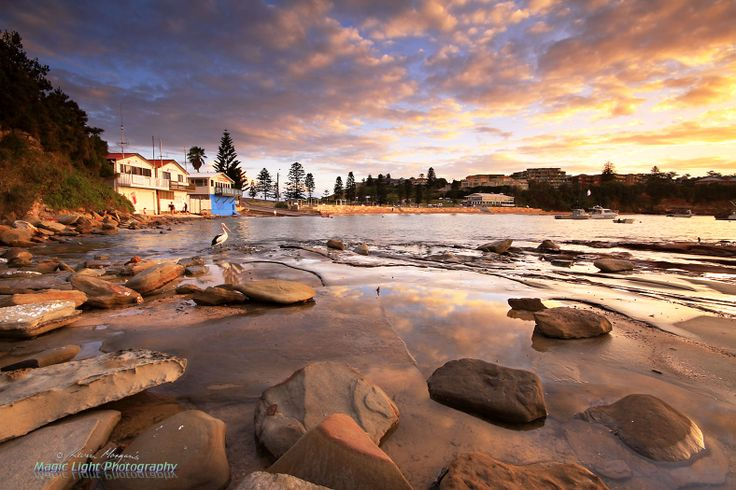 Sunset at Terrigal Haven