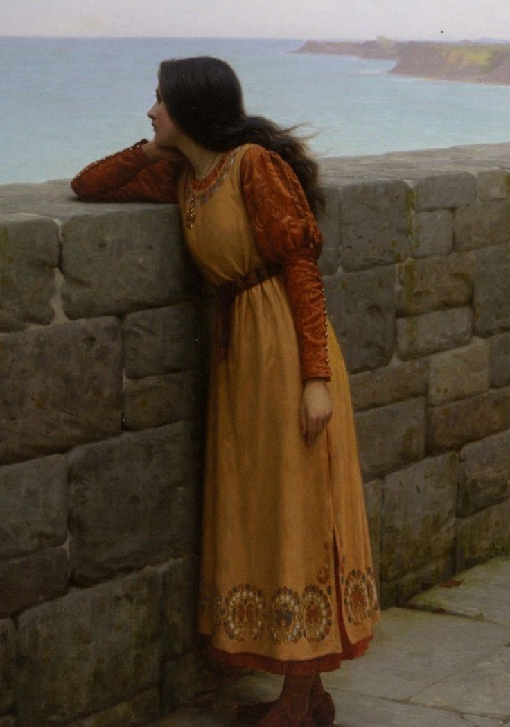 The Hostage (detail). 1912. Edmund Blair Leighton