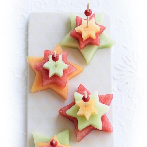 Fruit Christmas trees | Australian Healthy Food Guide