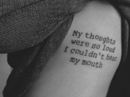 I like the placementThoughts, Tattoo Ideas, Quotes Tattoo, Modest Mouse, Motivation Quotes, Tattoo Quotes, Words Tattoo, A Tattoo, Tattoo Ink