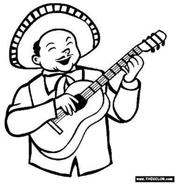Mexican Coloring Pages 1