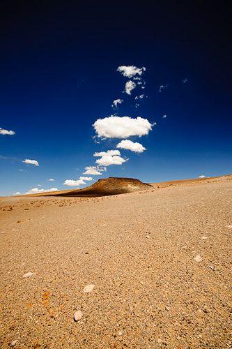 Camino al Salar de Tara (Chile). A más de 4500 msnm en pleno altiplano chileno