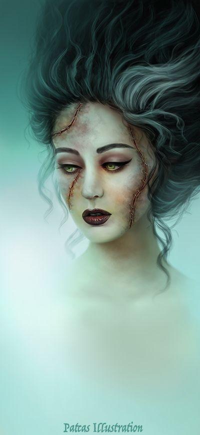 Best 25+ Bride Of Frankenstein Makeup ideas on Pinterest ...
