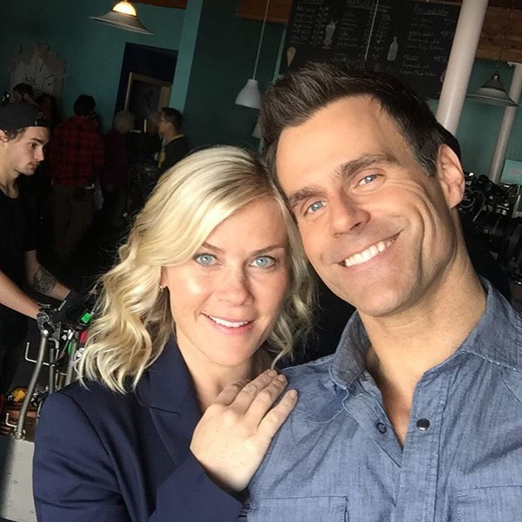 """We love selfies from the set of """"Murder, She Baked: A Deadly Recipe""""!"""
