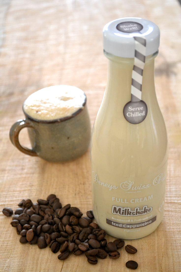 Deneys Swiss Dairy - Full Cream Milkshake - Iced Cappuccino #deneys #deneysswiss #deneysswissdairy #fullcream #milkshake #milkshakes #deneysmilkshake #icedcappuccino