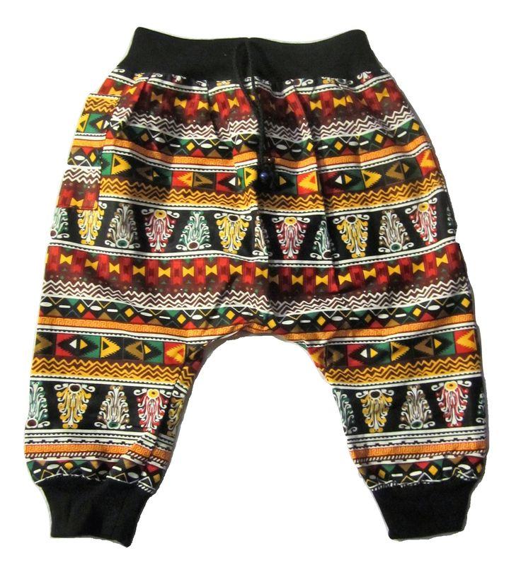 Kids Aztec Pant - Brown