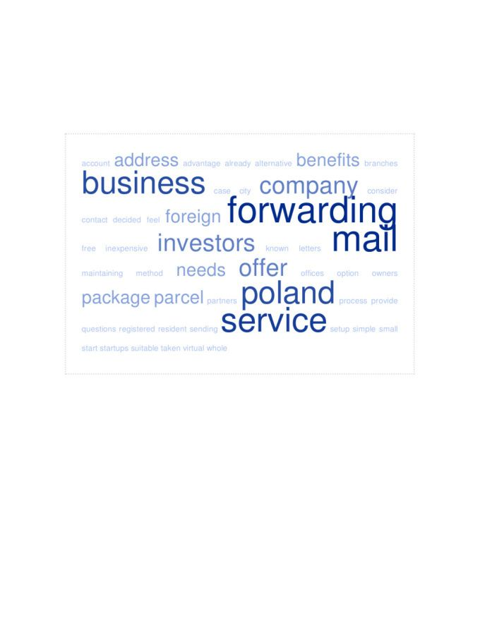 provide you a Polish address and do Mail Forwarding