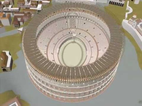 "See Rome as it looked in 320 AD and fly down to see famous buildings and monuments in 3D. Select the ""Ancient Rome 3D"" layer under Gallery in Google Earth. Download Google Earth at http://earth.google.com/rome/"