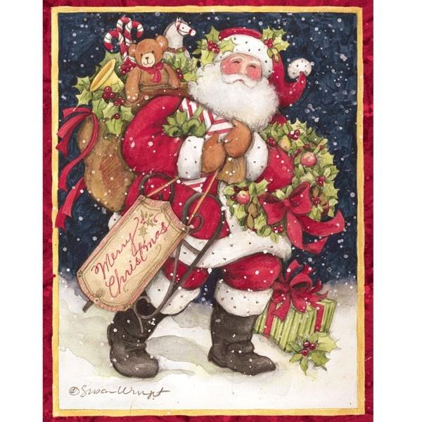 220 best Susan Winget Art images on Pinterest | Vintage christmas ...