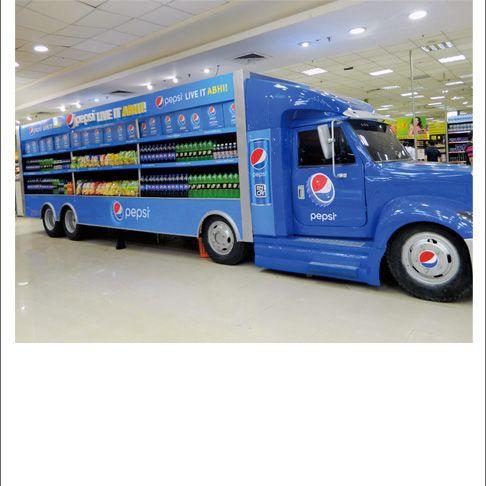 Pepsi Live It ABH Truck Display