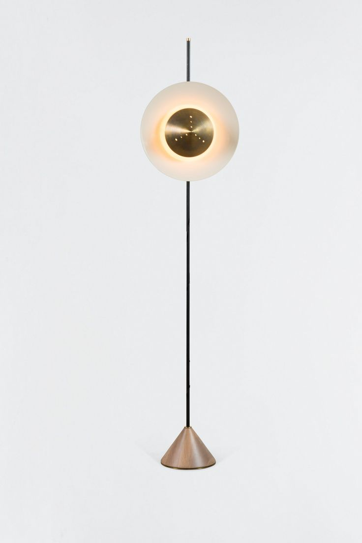 Pruckel Floor Lamp - Contemporary Industrial Transitional Floor Lamps - Dering Hall