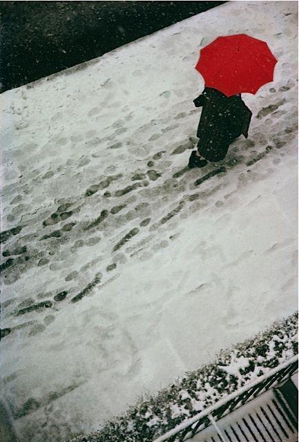 Footprints, 1950. Saul Leiter