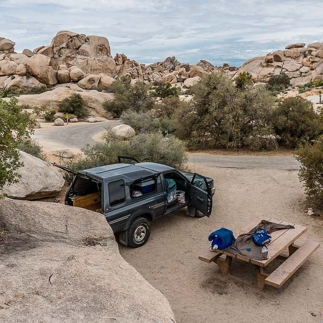 Camped out at Hidden Valley in Joshua Tree National Park. Love that place, so many great memories climbing those route around Hidden Valley. Whole different vibe and feel in the heat of summer compared to the climbing mecca it is in the winter.  One more night in the States and tomorrow we head for the border (and no not just to Taco Bell).