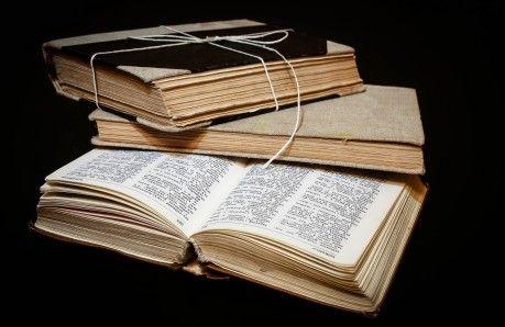 reklama #starych #książek obwiązanych sznurkiem #Fotokoloryt #Fotograf #Częstochowa