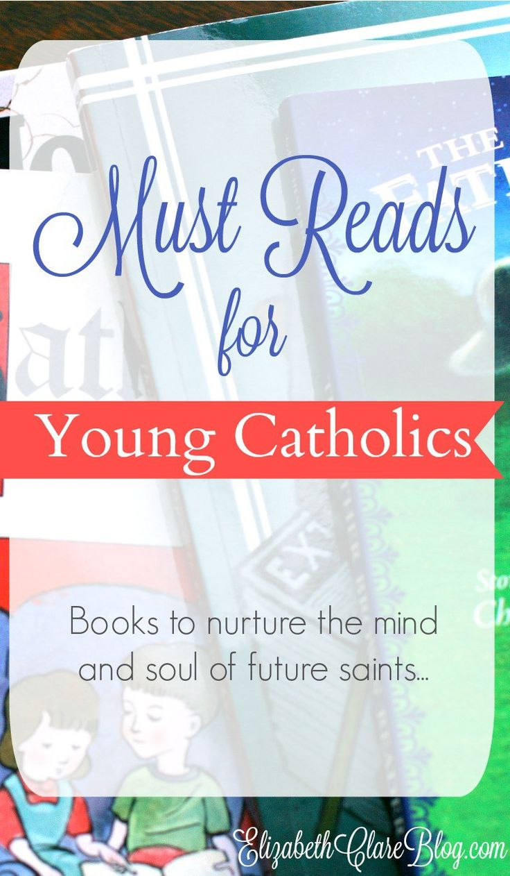 AWESOME list of must read books and literature for young Catholic children and families of all ages! Perfect for homeschoolers and anyone who wants to hand on the faith!