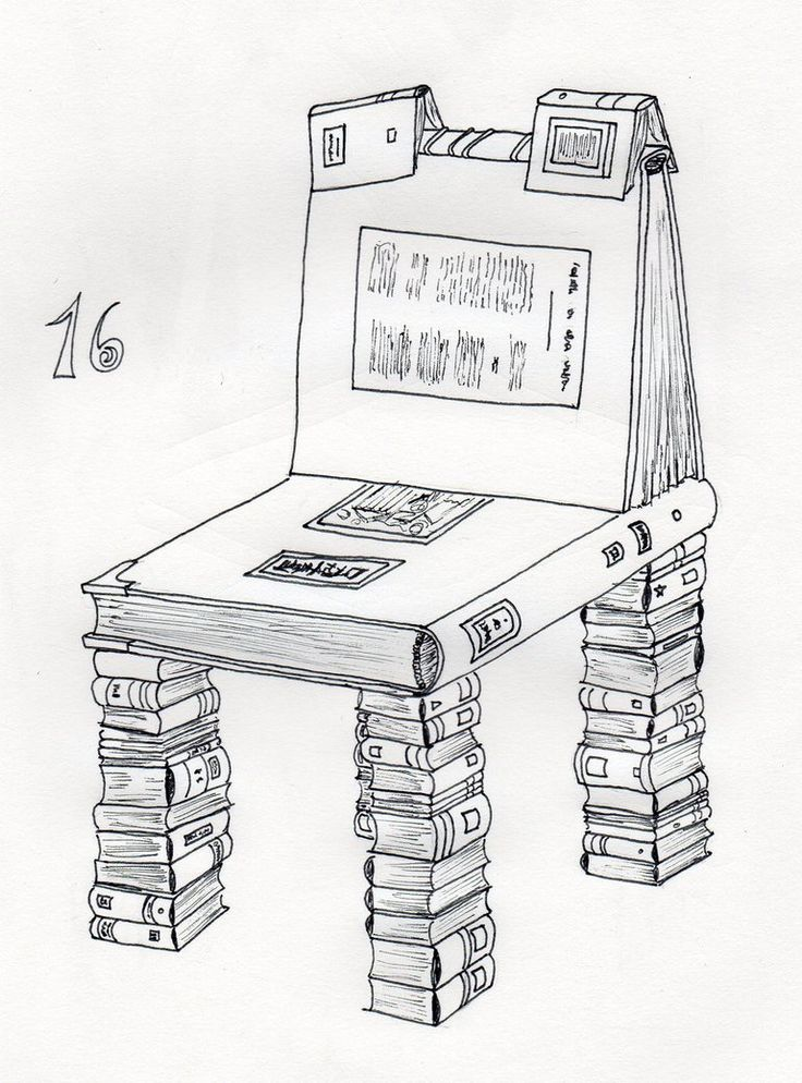 16 - Library Chair by Dz-Drawing