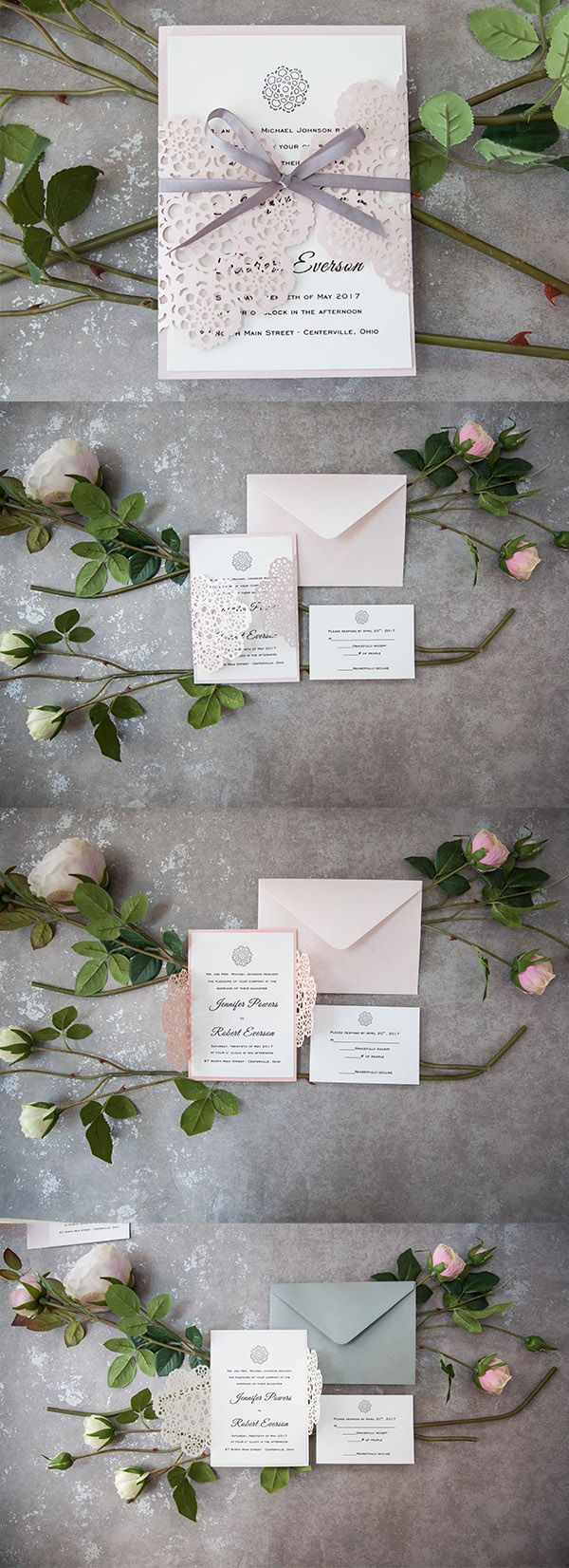 289 Best Undangan Images On Pinterest Bridal Invitations