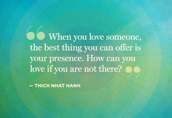 Presence.: Memories Tablet, Favorite Places, Life Lessons, Be Presents Quotes, Brass, Favorite Pinz,  Plaques, Inspiration Quotes, Thich Nhat Hanh