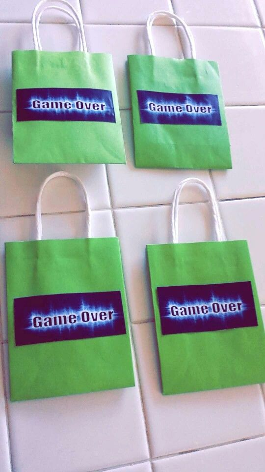 Xbox Goodie Bags