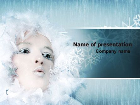 Nice PowerPoint template will be great choice for presentations on winter cold, winter weather, winter holidays, winter plans, winter cloths, etc.