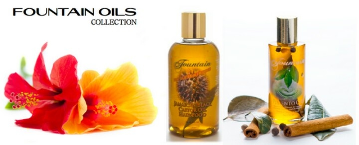 The Fountain oils collection